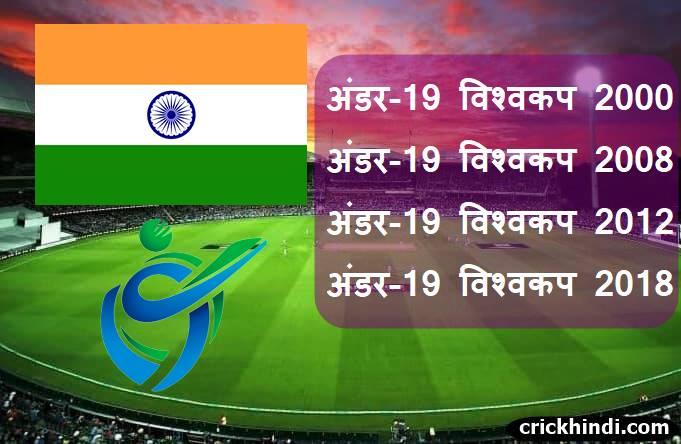Under-19 world cup winner list in hindi | सबसे ज्यादा बार अंडर-19 विश्वकप जीतने वाली टीम